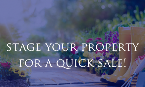 Home staging tips for a quick sale in the summer