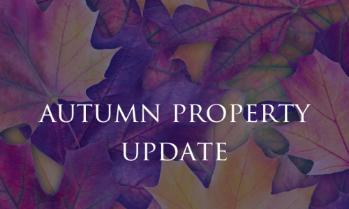 Autumn property update - Loo rolls and other flying objects